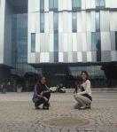 Fatma and Cristina